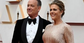 Tom Hanks and wife Rita Wilson donating blood for COVID-19 vaccine research