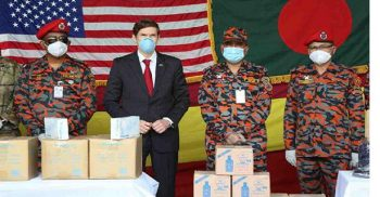 US provides medical logistics to Fire Service