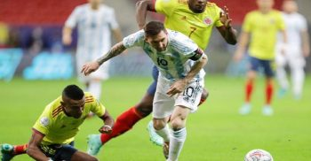 Argentina beat Colombia on penalties to move into final