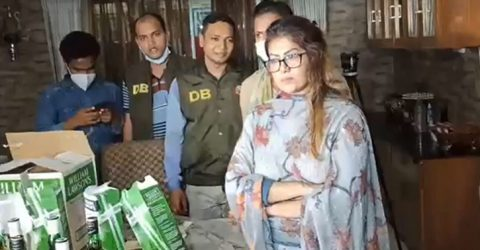 Another model Mau was arrested after Piyasa