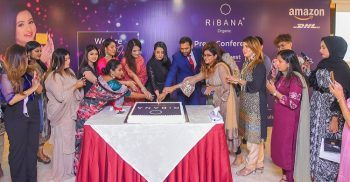 Local organic product brand RiBANA launched their website